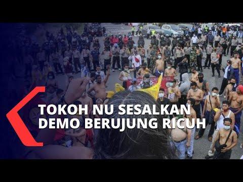 demo uu cipta kerja tokoh nu pemerintah dan dpr harus dengarkan rakyat