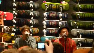 Young Guns - Dearly Departed (Acoustic) at Vans Store Cardiff 11/10/2012