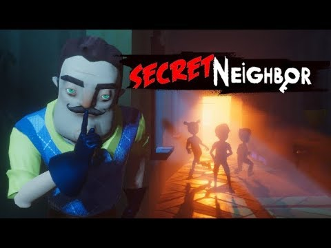 Secret Neighbor E3 Announcement Trailer - Hello Neighbor Multiplayer
