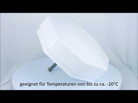 Eisfreihalter Ø 40 cm mit Styroporschwimmer - Produktvideo / 360°-Ansicht