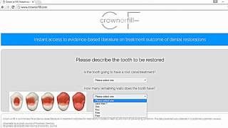 Crown-or-Fill - Restorative Evidence-based Dentistry -  Tutorial in English - crownorfill.com