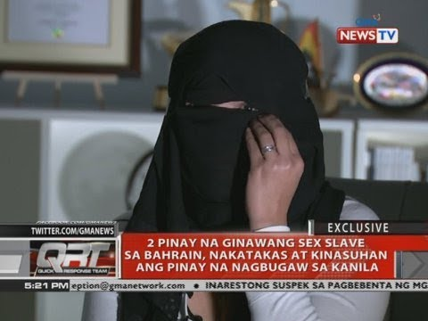 [GMA]  QRT: 2 Pinay na ginawang sex slave sa Bahrain, nakatakas at kinasuhan…