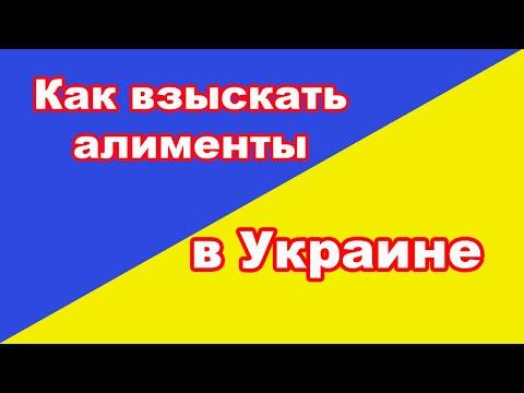 Взыскание алиментов на ребенка в Украине