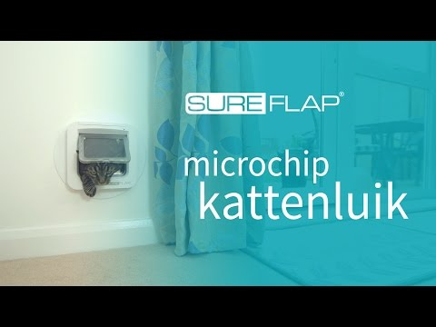Aan de slag met het SureFlap microchip kattenluik