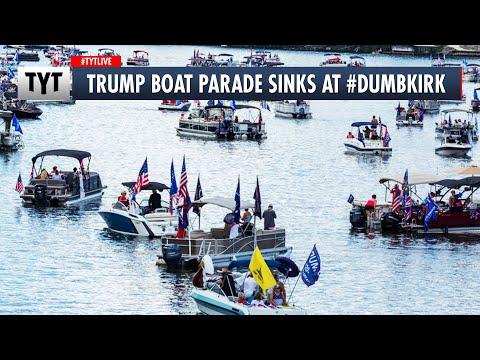 Trump Boat Parade Sinks at #Dumbkirk