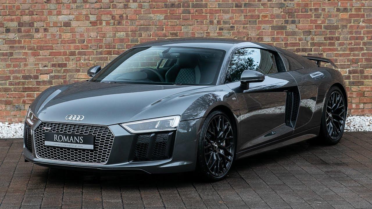 2018 Used Audi R8 V10 Plus Quattro Daytona Grey