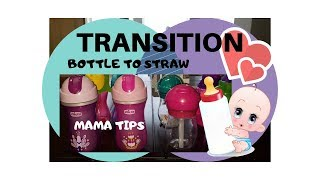 How to TRANSITION your BABY to STRAW CUPS, Avent, Chicco, Oxo, Walmart