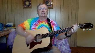 2166 -  Wings Of A Dove -  Ferlin Husky vocal & acousitic guitar cover & chords