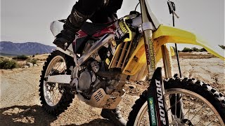 How to kick start 4 stroke dirt bike, fuel injected and carbureted - Beginners guide.