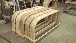 "Steam Bending Wood, 1"" Thick Kiln Dried Ash 