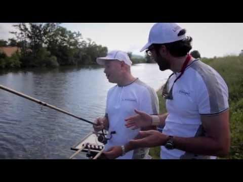 Inverno pescando su video di Dvina