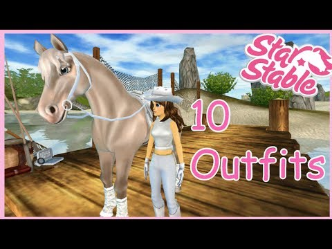 Star Stable - 10 Outfits + Outtakes