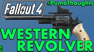 FALLOUT 4: Nuka World DLC - Western Revolver Pistol Analysis, Review and Location #PumaThoughts