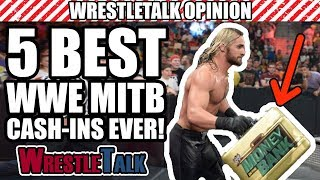 5 BEST WWE Money In The Bank Cash-Ins! - Video Youtube
