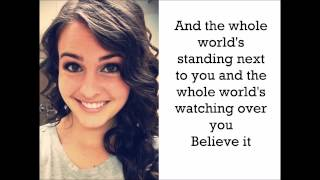 Believe it - Cimorelli (Lyrics)