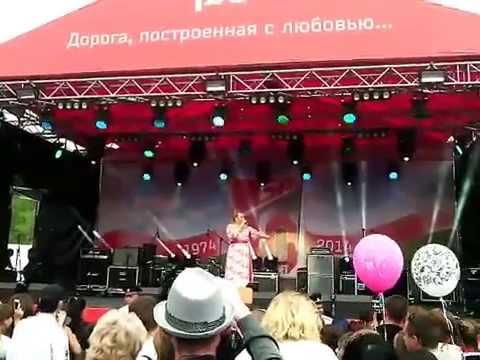 Надежда Ангарская - Якутяночка (40 лет БАМу ,  г.Тында)