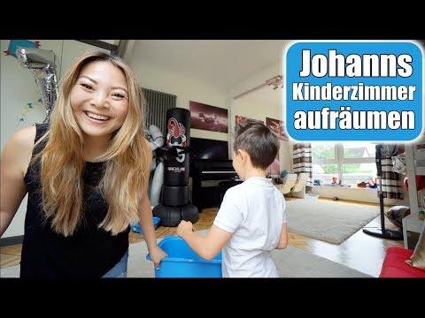 Kinderzimmer aufräumen für die Schule 🤓 Elisa spricht mit mir! Familien Leben VLOG | Mamiseelen