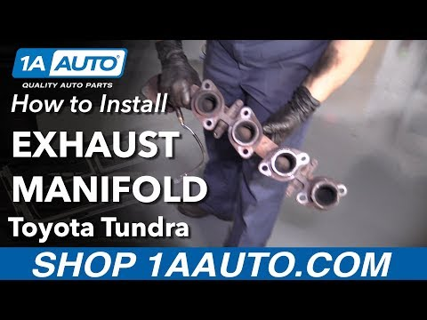 How to Replace Exhaust Manifold 00-04 Toyota Tundra
