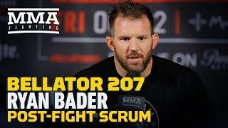 Bellator 207: Ryan Bader Wants Fedor Emelianenko in Final, Makes Case For Pound-for-Pound List Spot