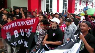 NSB Menyambut Tim Bali United Dengan Chant WE ARE BALI UNITED