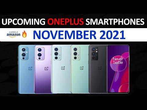 Top Upcoming OnePlus Smartphones November 2021🔥🔥🔥
