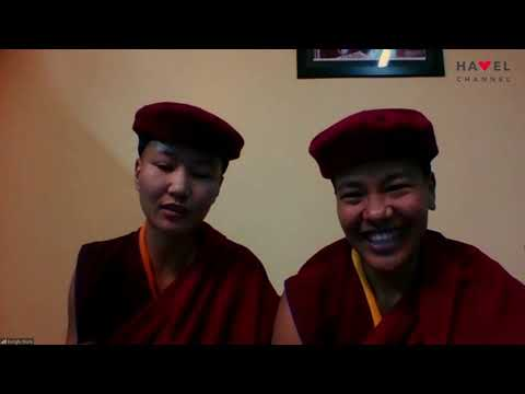 Přehrát video: Václav Havel Human Rights Prize 2020: Interview with the nuns of Drukpa order