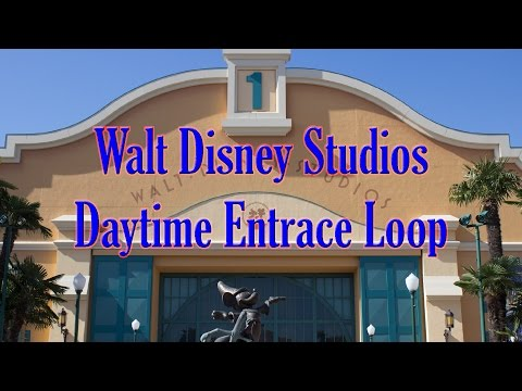 Walt Disney Studios Park Daytime Entrance Loop
