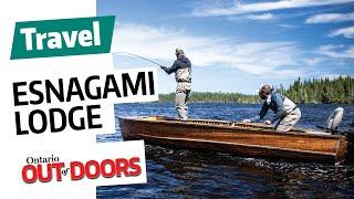 Fishing Esnagami Wilderness Lodge