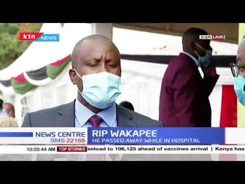 R.I.P Wakapee: Uhuru among the dignitaries who will lead Kenyans in attending the burial of Juja MP
