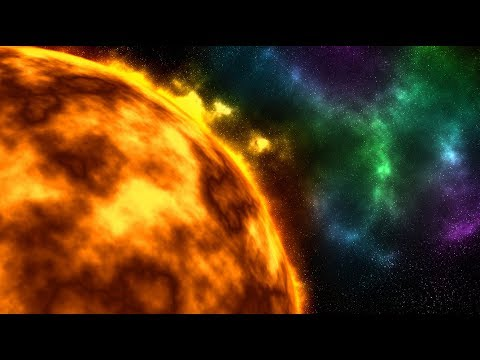 Photoshop: How to Create an Awesome Sun in Deep Space from Scratch.