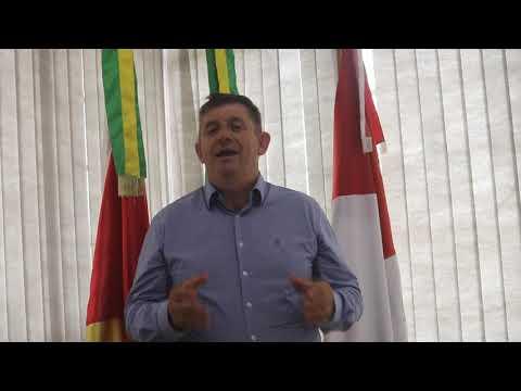 Palavras do prefeito de Lagoa dos Três Cantos Sergio Antonio Lasch nestes 29 anos do município