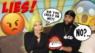 COUPLES LIE DETECTOR TEST (THIS RELATIONSHIP IS OVER)