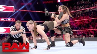 Ronda Rousey vs. Sarah Logan - Beat the Clock Challenge Match: Raw, March 25, 2019