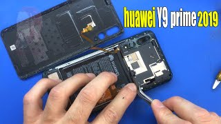 huawei y9 prime 2019 disassembly and screen replacement(stk-l21)