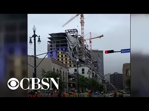 Hard Rock Hotel partially collapses in New Orleans