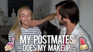MY POSTMATES DOES MY MAKEUP - Video Youtube
