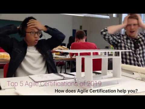 Top 5 Agile Certification Course 2019 - YouTube