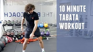 10 Minute Intense Tabata-style Workout | The Body Coach by The Body Coach TV