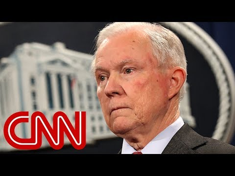 Jeff Sessions questioned by Mueller in Russia investigation
