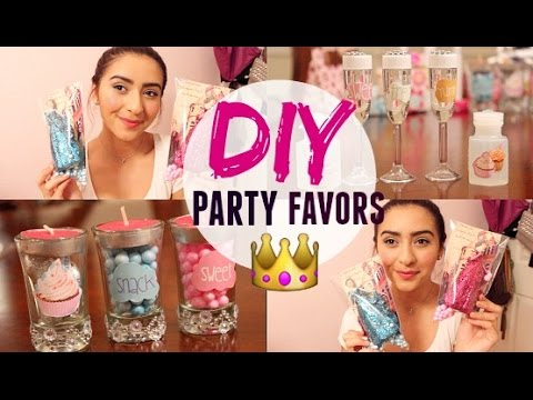 Video DIY Quince Party Favor Ideas! Quinceanera.com