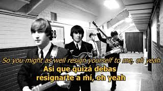 I'll get you - The Beatles (LYRICS/LETRA) [Original]