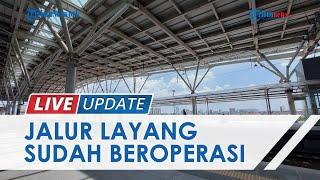 LIVE UPDATE: Mengintip Jalur Layang Stasiun Manggarai: Dilengkapi Lift, Tangga, dan Eskalator