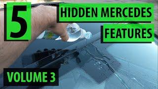 5 Hidden Mercedes functions, tricks & features - Vol 3