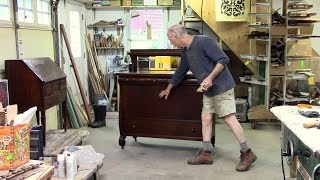 Restoring an Antique Oak Server