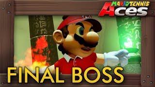 Mario Tennis Aces - Final Boss & Ending