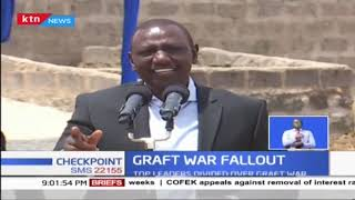Ruto: I will not be intimidated