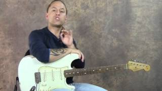 Shortcut To Memorize Notes On Fretboard SD   Real World Soloing   Steve Stine   GuitarZoom.com
