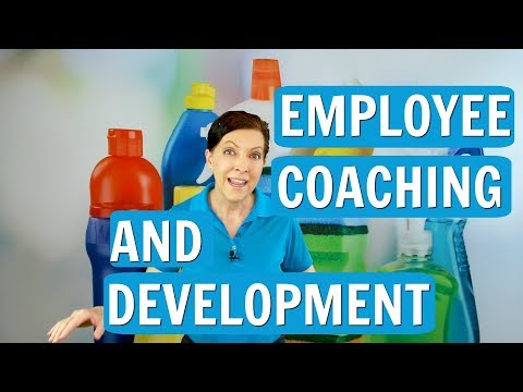Coaching and Development for Cleaning Employees
