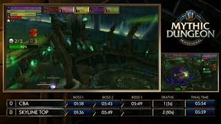 MDI | CBA vs. Skyline | Round1 - CN | Mythic Dungeon Invitational