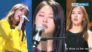 Audition-addicts Janey& Yuna Kim&Shin Ji Hoon's fate? [The Unit/2017.12.14]